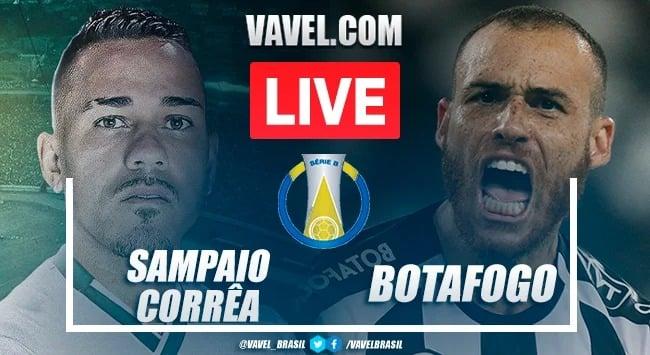 Gols e melhores momentos Botafogo x Sampaio Corrêa pela Série B (2-0)