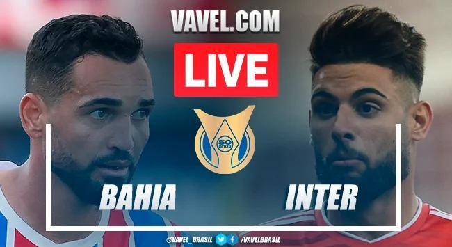 Gols e melhores momentos Internacional x Bahia pelo Campeonato Brasileiro (2-0)