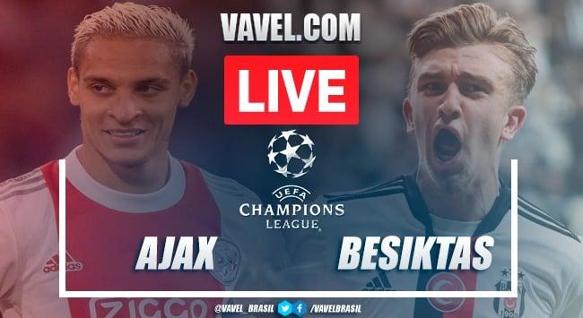 Goals and Highlights: Ajax 2-0 Besiktas in Champions League