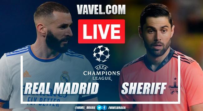 Gols e melhores momentos de Real Madrid x Sheriff Tiraspol (1-2)