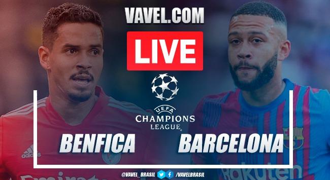Gols e melhores momentos de Benfica 3 x 0 Barcelona pela Champions League