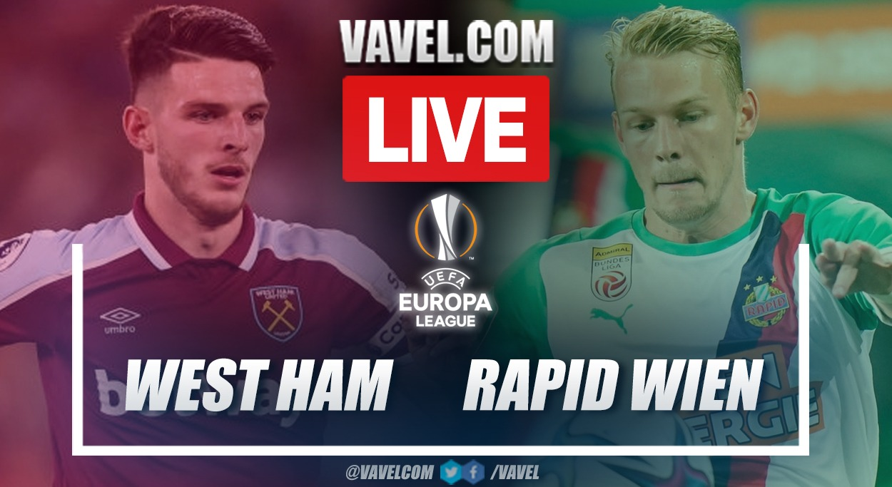 Goals and Highlights: West Ham 2-0 Rapid Vienna in UEFA Europa League 2021