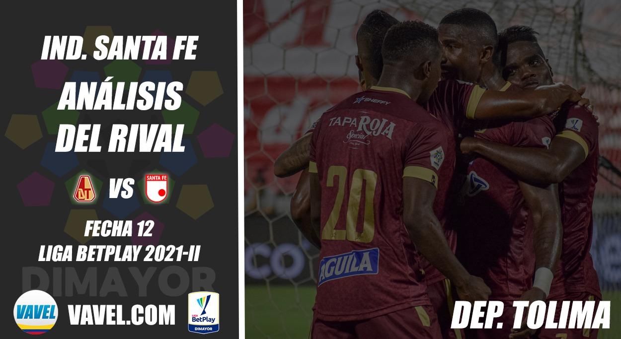 Independiente Santa Fe, análisis del rival: Tolima (Fecha 12, Liga 2021-II)