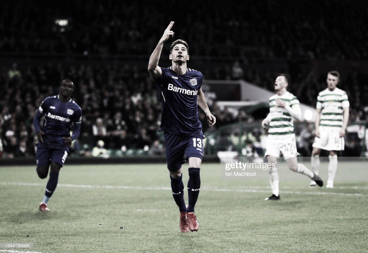 Acción argentina en la Europa League