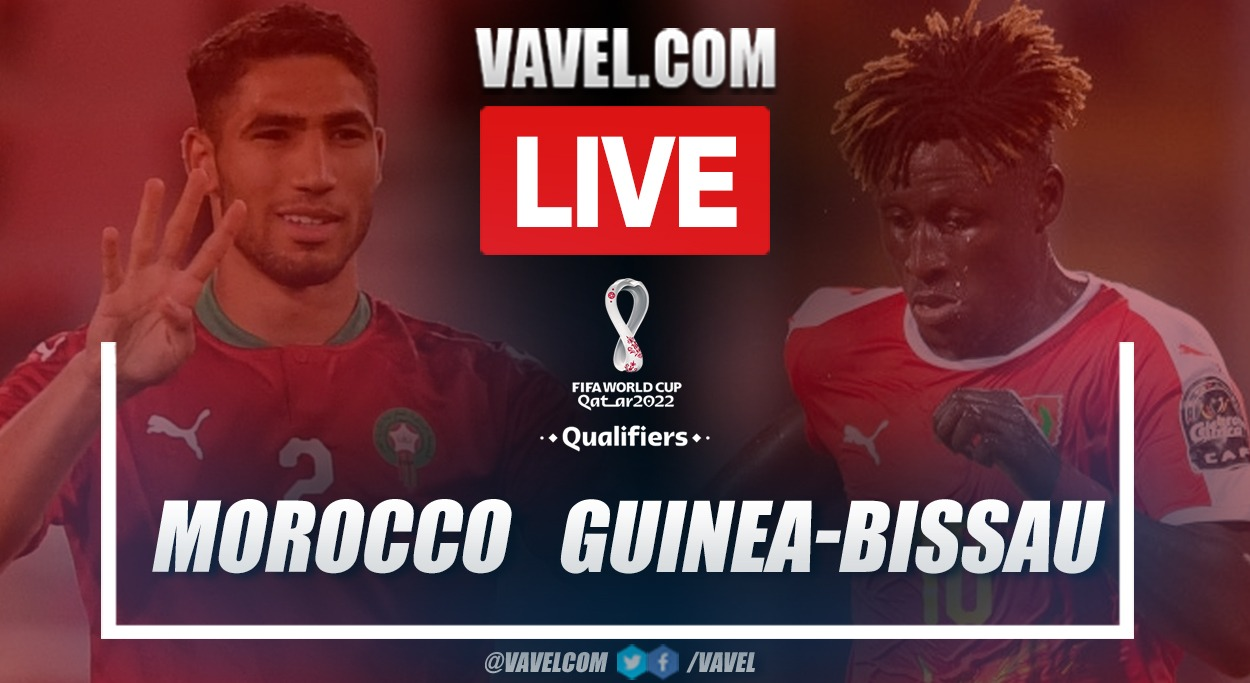 Highlights and goals: Morocco 5-0 Guinea-Bissau in African Qualifiers
