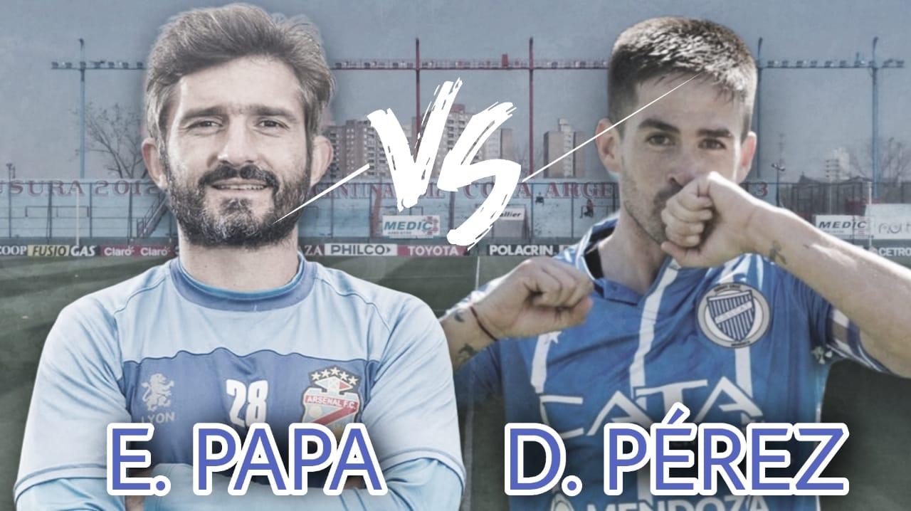Emiliano Papa vs Damián Pérez: Laterales experimentados