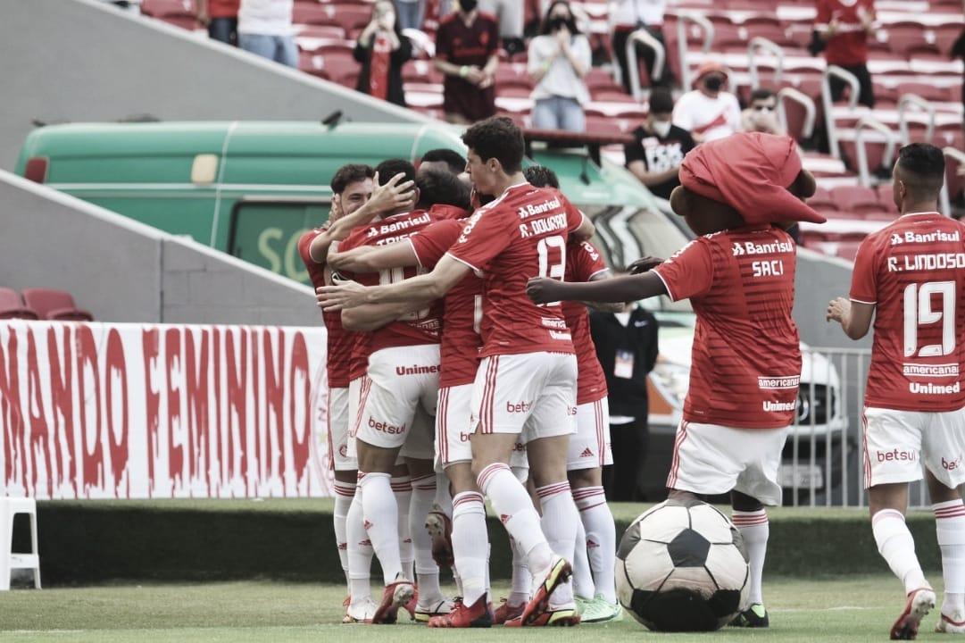 Gols e melhores momentos de Internacional 3 x 1 América-MG pelo Campeonato Brasileiro
