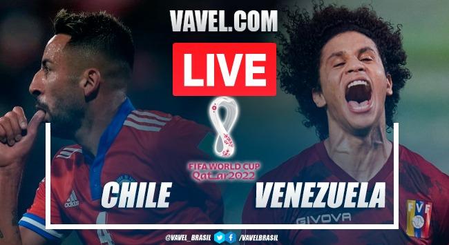 Gols e melhores momentos de Chile 3 x 0 Venezuela pelas Eliminatórias da Copa do Mundo