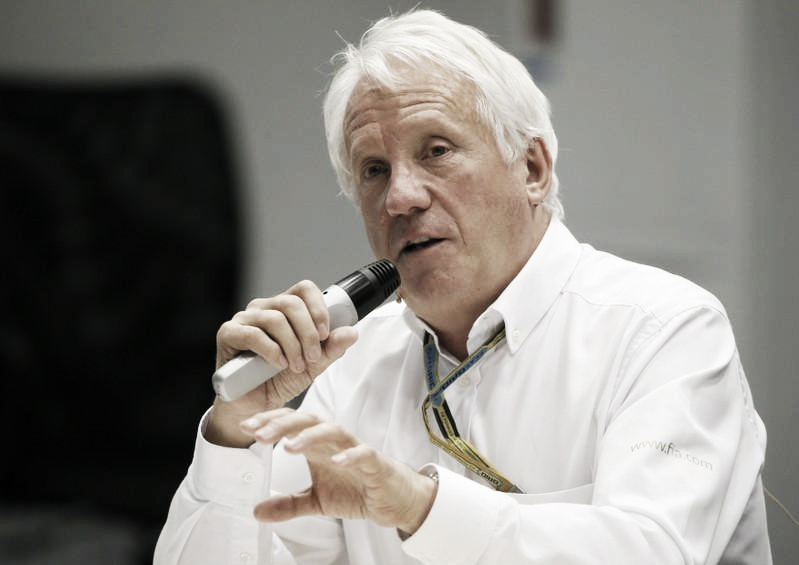 Murió Charlie Whiting