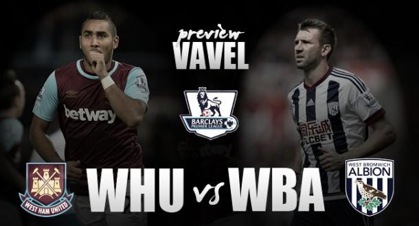 West Ham - West Brom: remontar el vuelo contra un equipo al alza