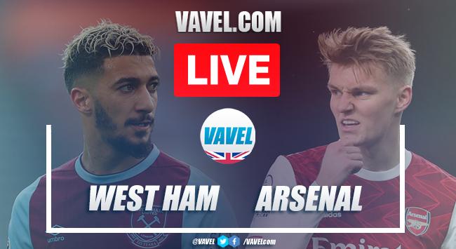As it happened: West Ham United 3-3 Arsenal FC