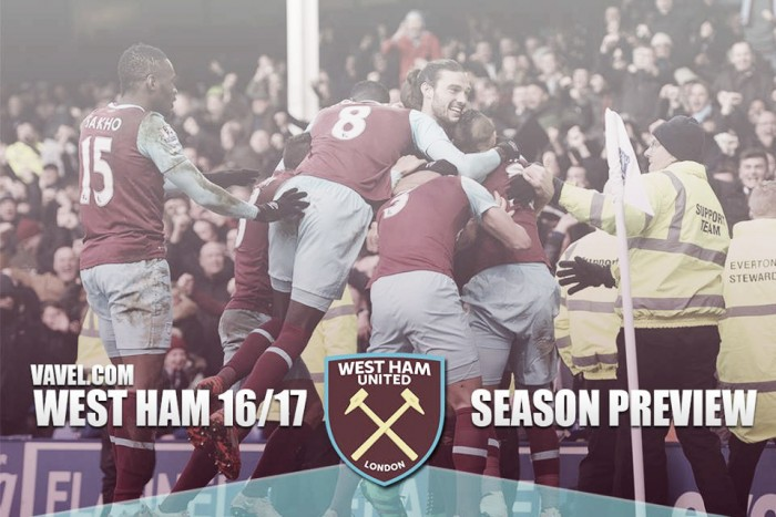 West Ham United 2016-17 Season Preview: Bilic's side looking to make the next step in new surroundings