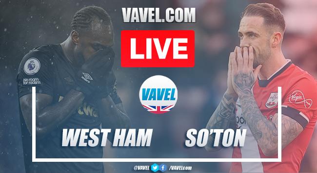 As it happened: West Ham United 3-0 Southampton FC