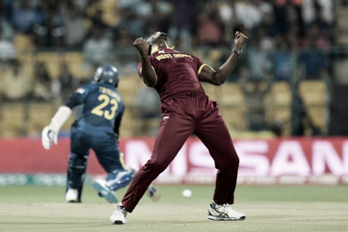 World T20: West Indies cruise towards semi-finals with a comfortable victory over Sri Lanka