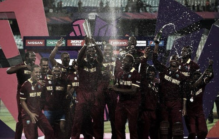 World T20 2016 Final: Brathwaite obliterates Stokes for four sixes in final over, as West Indies capture second crown