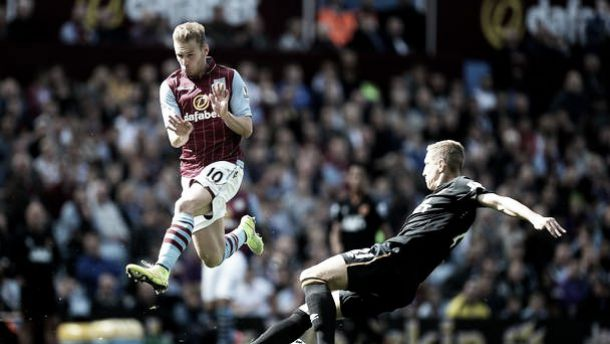 Aston Villa 2-1 Hull: Villa make it two wins in three with victory over Steve Bruce's Hull