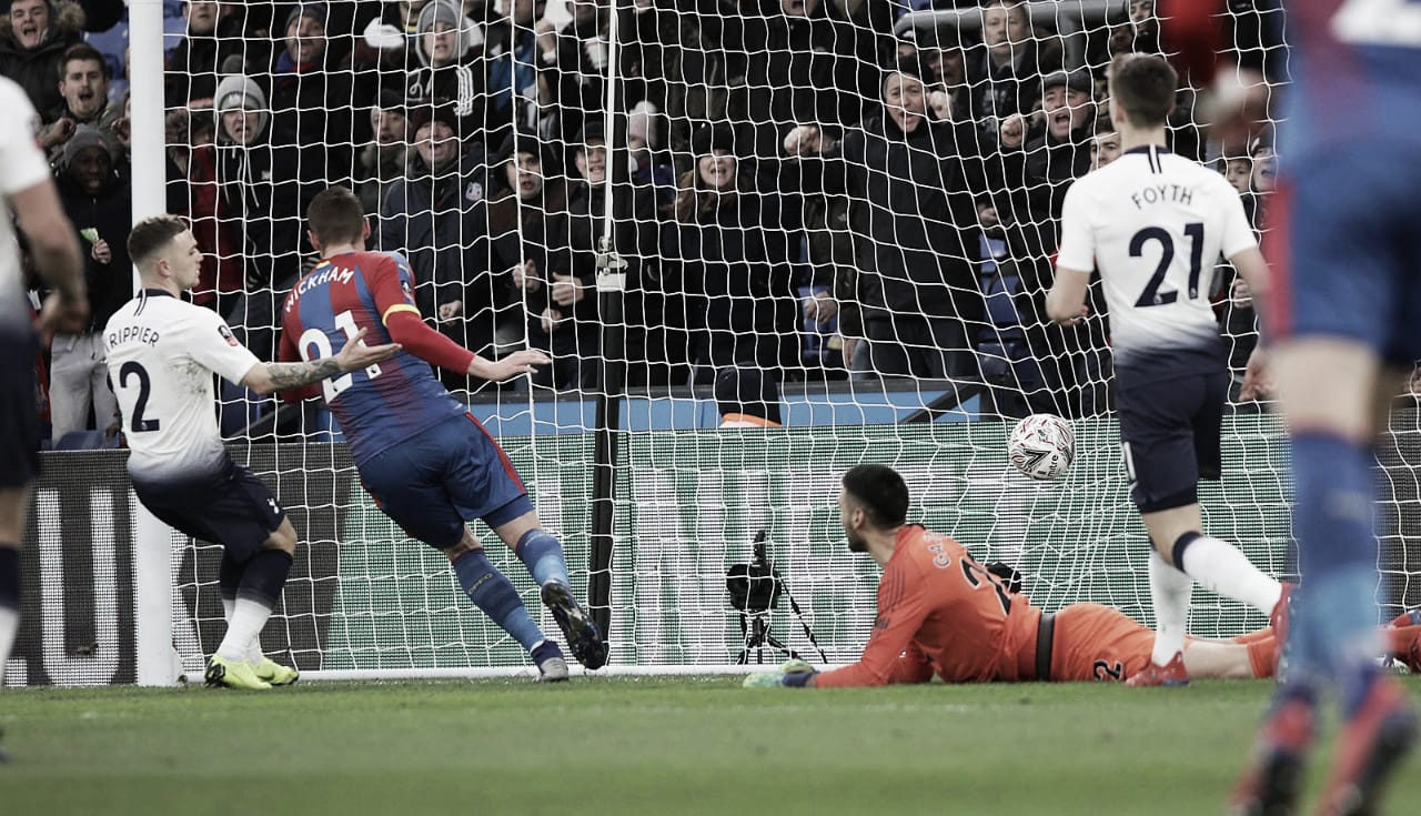 Crystal Palace vence e elimina Tottenham da Copa da Inglaterra