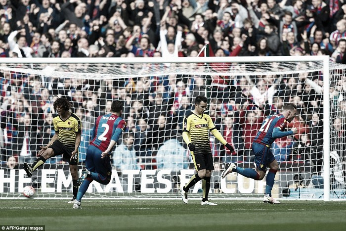 Crystal Palace 2-1 Watford: FA Cup dream ends for Hornets