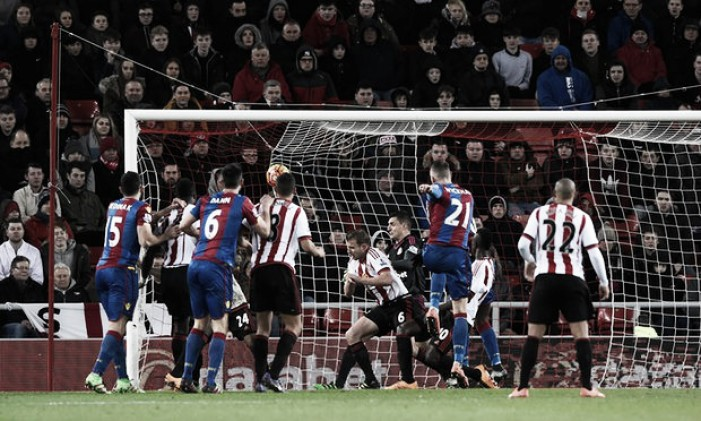 Pardew praises goalscorer Wickham but rues inability to hold on against Sunderland