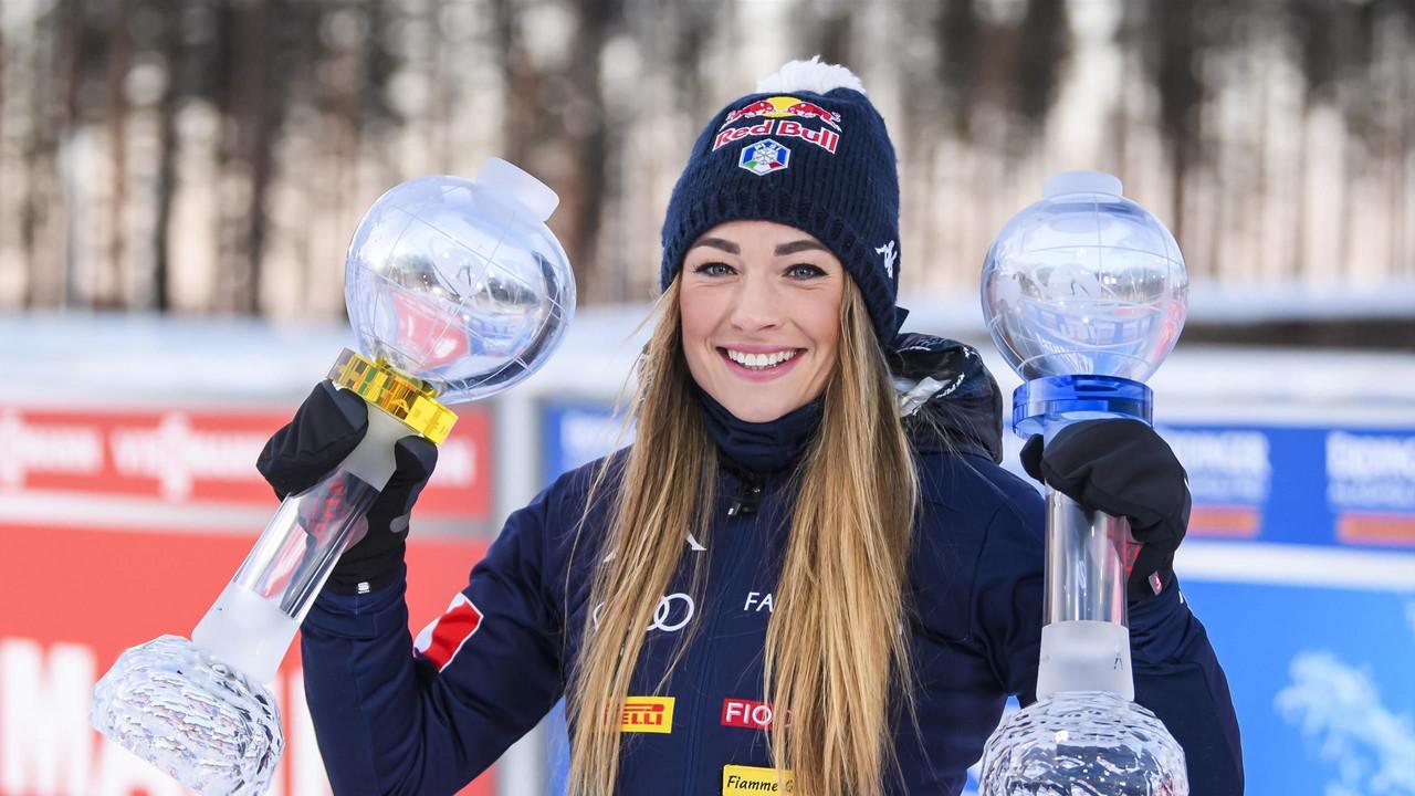 Dorothea Wierer gagnante du gros globe de cristal lors de la dernière saison. (Crédits: Eurosport)