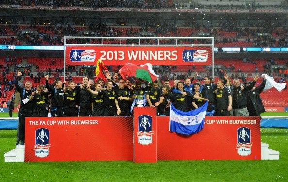 Wigan faz história e sagra-se campeão da FA Cup