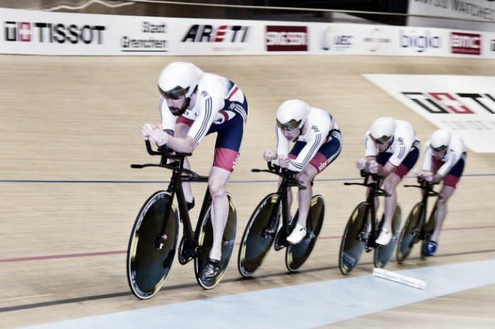 Bradley Wiggins believes Team Pursuit record could be broken at the World Championships