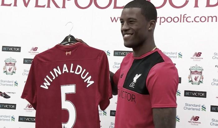 Georginio Wijnaldum relishing the chance to work under Jürgen Klopp at Liverpool