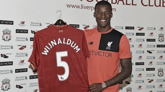 Liverpool fecha contratação do meia Wijnaldum, destaque do Newcastle