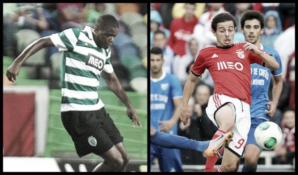 William Carvalho e Bernardo Silva: O verde e o vermelho a defender as quinas