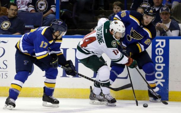Minnesota Wild Take Game Five In St. Louis, Take 3-2 Series Lead