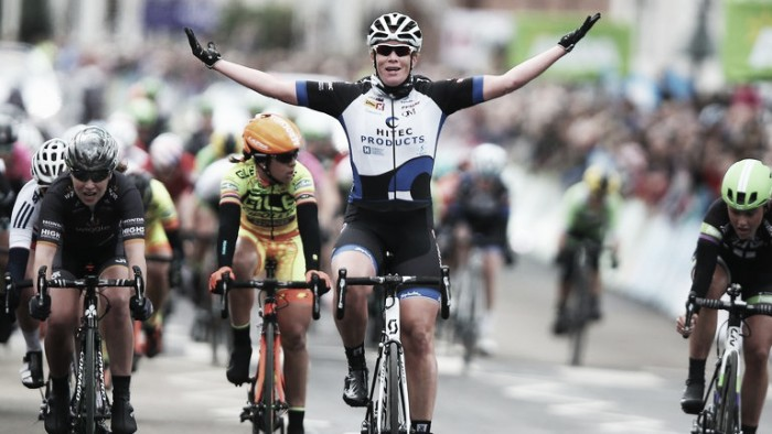 Lizzie Armitstead and Kirsten Wild brand inaugural women's Tour de Yorkshire a success