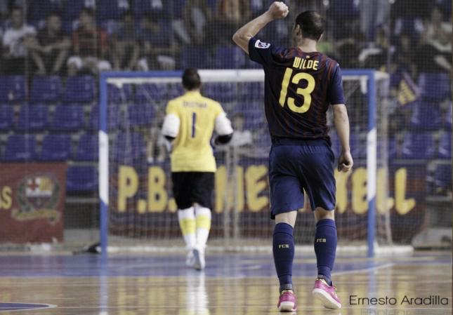 FC Barcelona Alusport 7-4 Inter Movistar: los culés a la final (y ya van ocho)