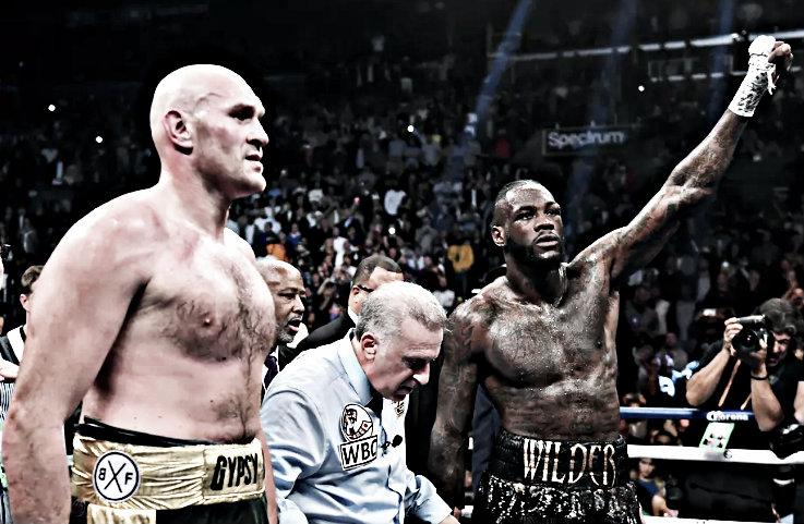 Wilder vs. Fury para antes de Junio