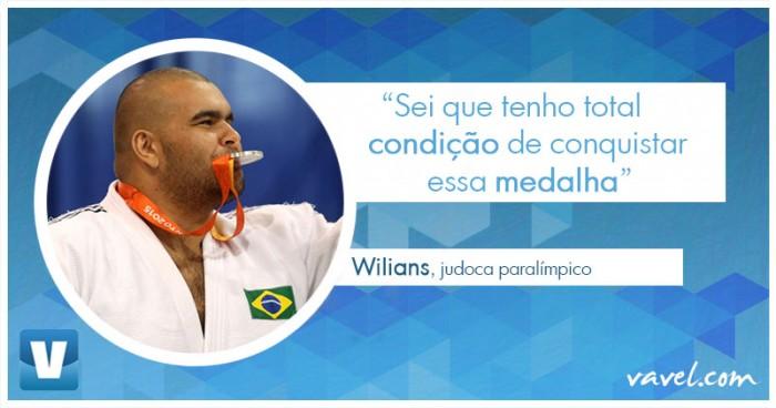 """Entrevista. Judoca paralímpico Wilians Araújo à VAVEL: """"Tenho condição de conquistar medalha"""""""