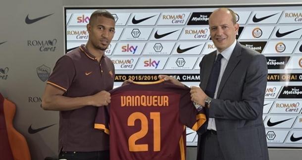 La Roma incorpora a Vainqueur