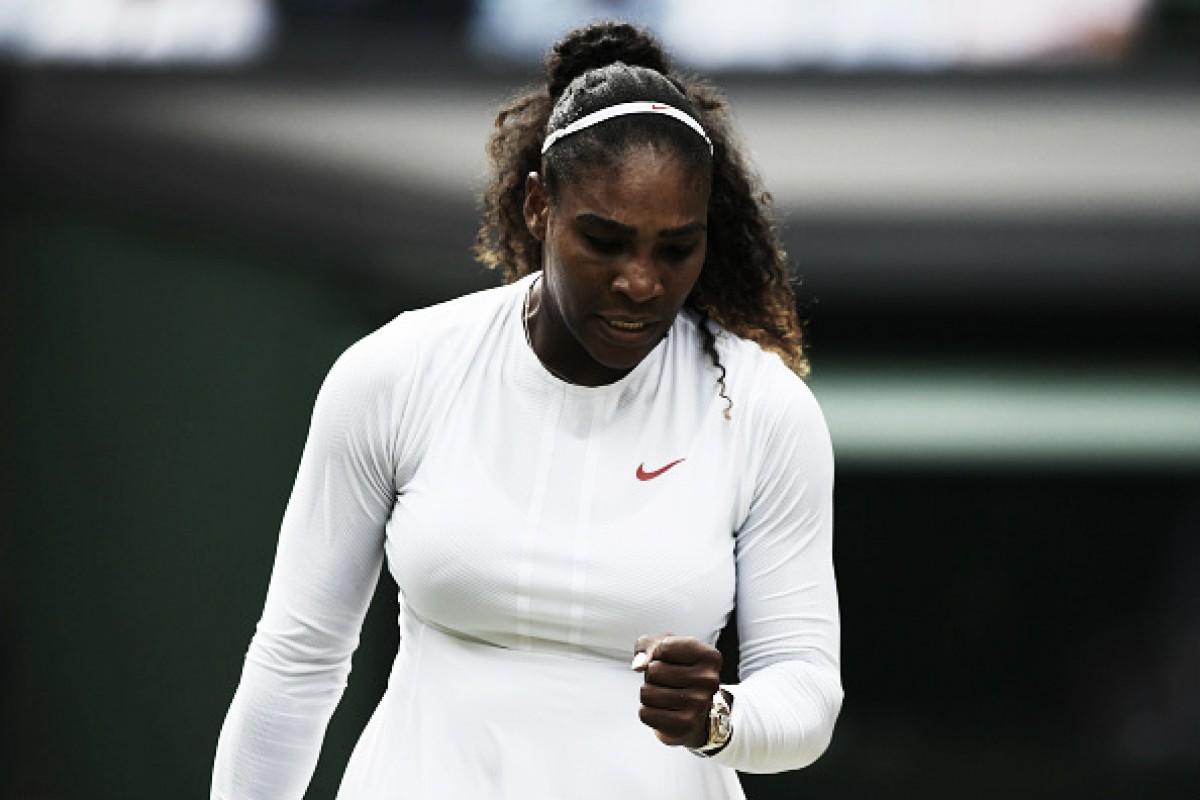 Serena Williams vence Rodina, alcança 18 vitórias seguidas em Wimbledon e está nas quartas