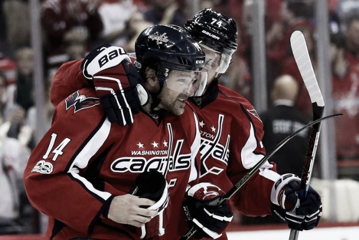 Justin Williams, Questionable officiating give Washington Capitals3-2 series lead