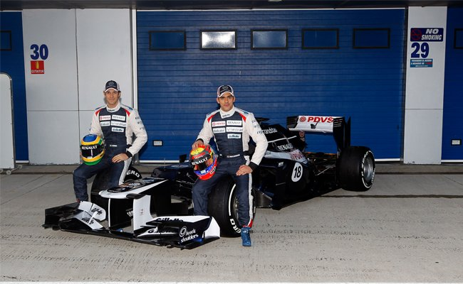 Williams presenta el FW34 de 2012