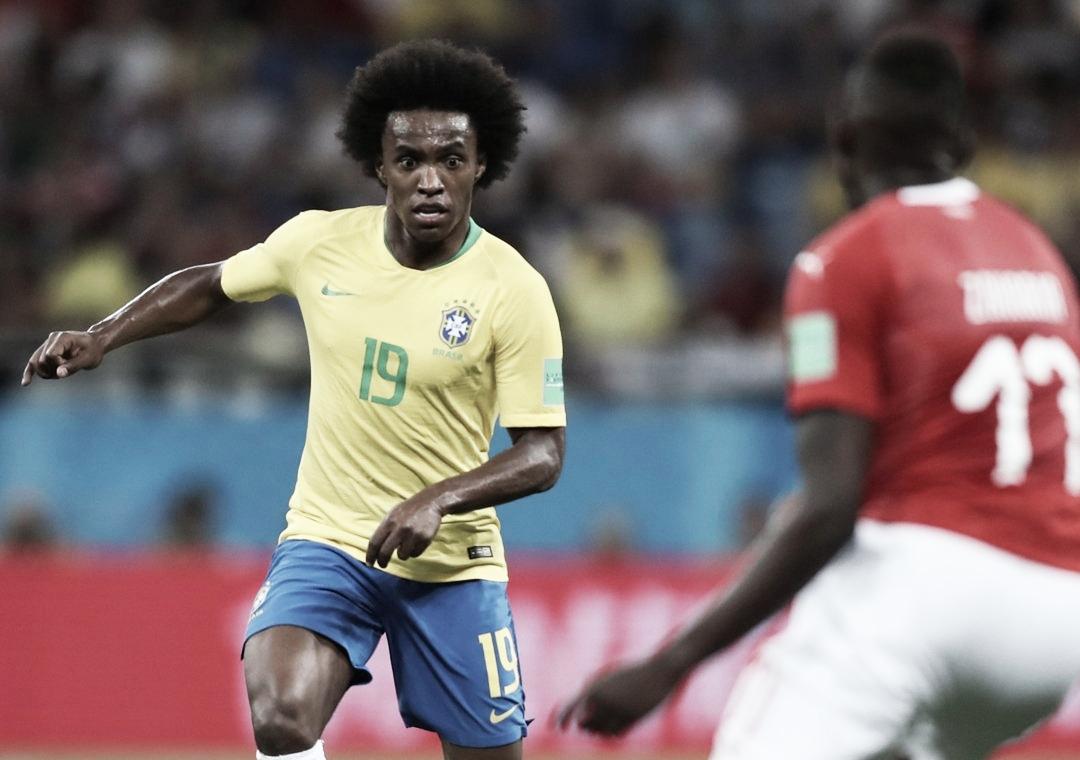 Convocado para o lugar de Neymar, Willian será o camisa 10 na Copa América