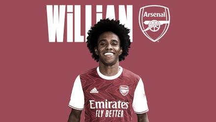 Após passagem de sete anos pelo Chelsea, Willian acerta com rival Arsenal
