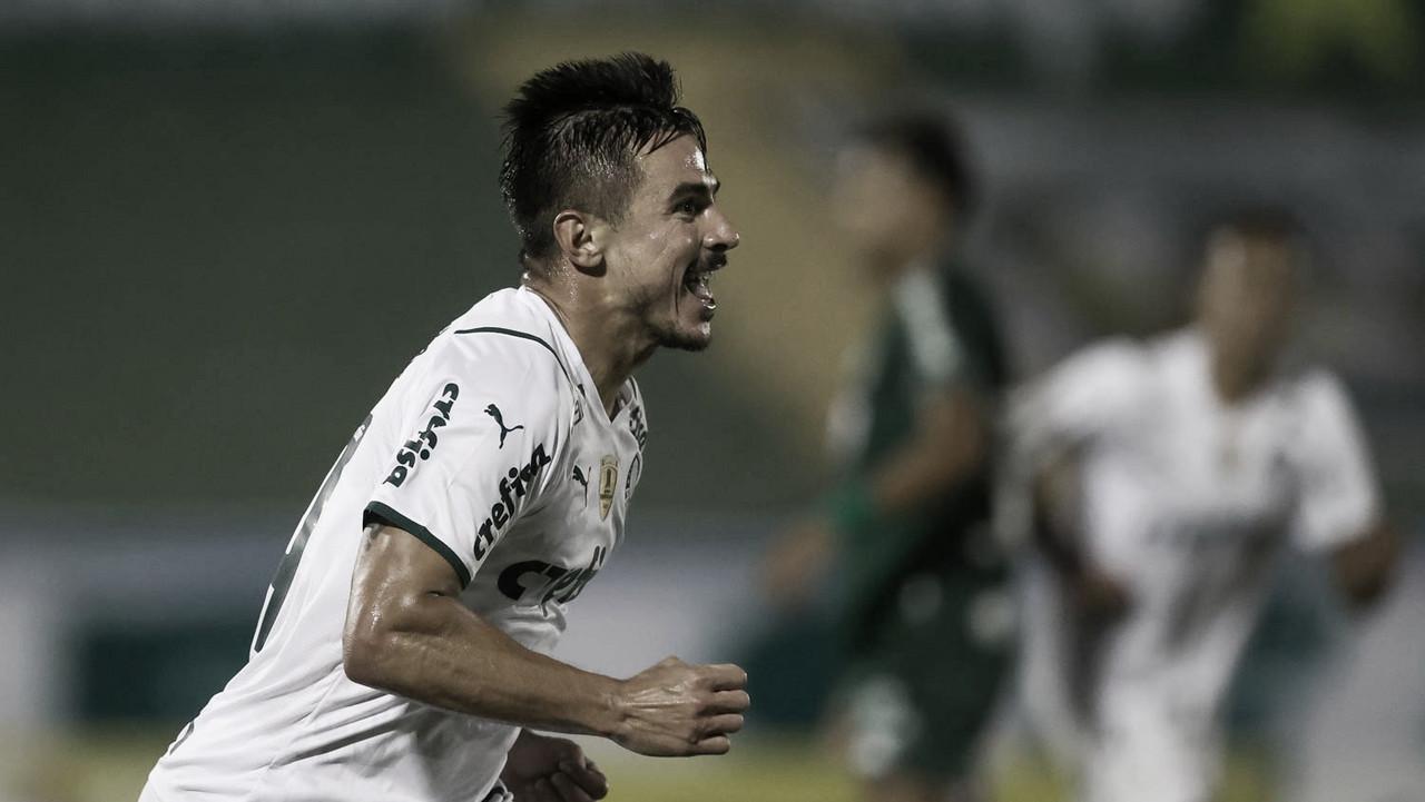 Jogando mal, Palmeiras vira contra Guarani e se recupera no Paulistão 2021