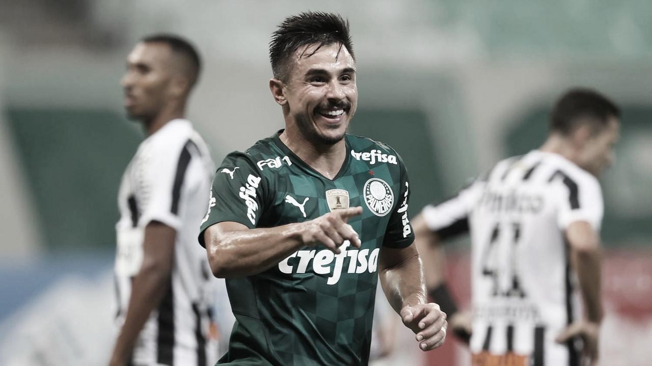 Gols e Melhores Momentos de Palmeiras 3 x 2 Santos pelo Campeonato Paulista