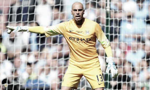 Opinion: Is Willy Caballero a good enough back-up 'keeper to Joe Hart, or no?