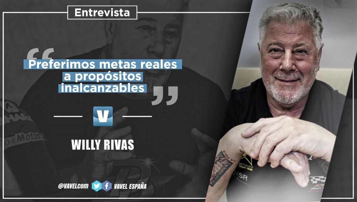 """Entrevista. Willy Rivas: """"Noqueremos marcarnos metas inalcanzables, preferimosmetasreales"""""""