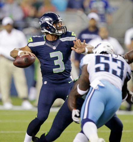 Ni Flynn, ni Tarvaris: Russell Wilson bajo los focos le da la victoria a los Seahawks