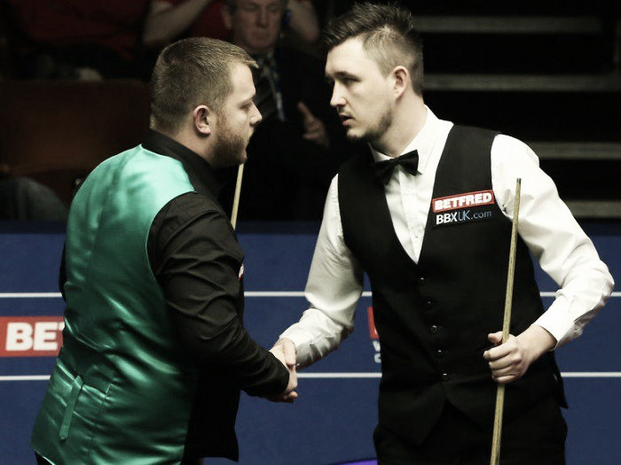Two more seeds buried as Wilson and Ding progress to quarters