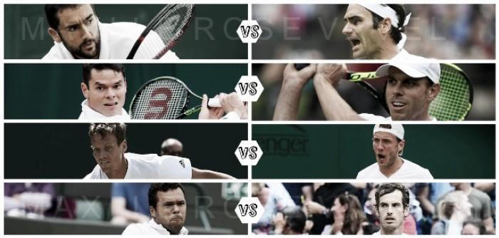 Wimbledon: Cuartos de final
