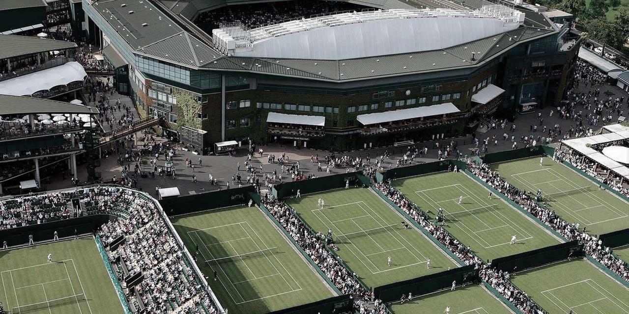 Escenario listo para Wimbledon 2019