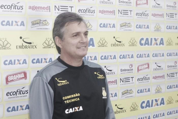 """Luís Carlos Winck chega ao Criciúma prometendo raça: """"Esse é meu estilo"""""""