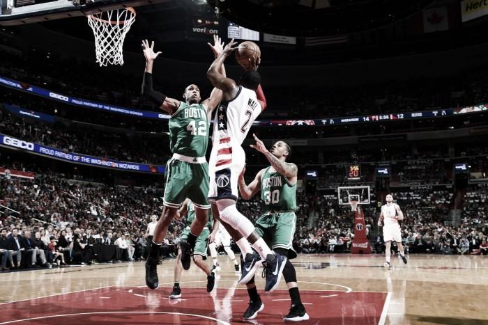 Con poderoso ataque, Wizards vence a Celtics